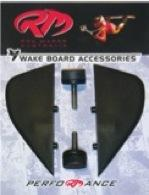 Wake board fin sets