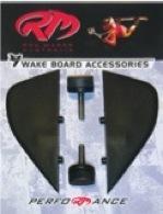 Wake board fin sets